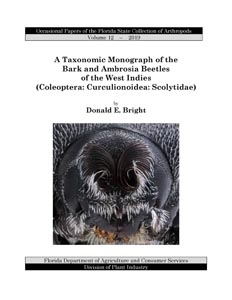 A Taxonomic Monograph of the Bark and Ambrosia Beetles of the West Indies (Coleoptera: Curculionoidea: Scolytidae)